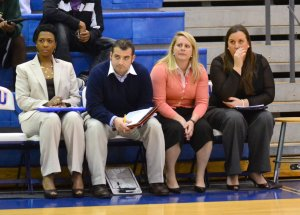 Donna and the Coaching Team