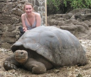 Working in the Galapagos