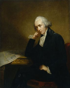 Painting of James Watt, the noted Scottish inventor and mechanical engineer by Carl Frederik von Breda.