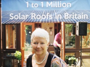 1st solar roof in UK built by Sue Roaf 1995