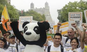 People's Climate Rally in New York City, Sept. 21, 2014 http://www.worldwildlife.org/